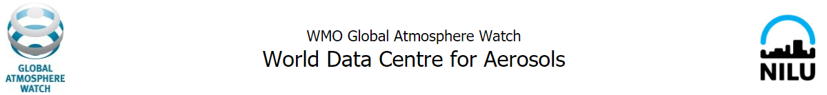 World Data Centre for Aerosols
